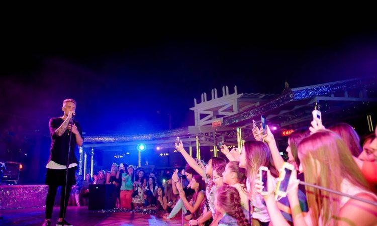 Концерт Егора Крида в Клубе А2